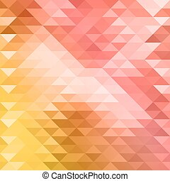 Yellow and pink mosaic background