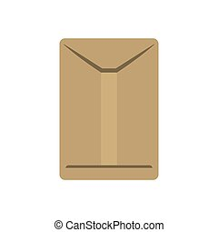 envelope delivery shipping logistic security icon. Vector...