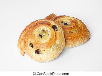Fresh danish pastries