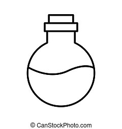 oil bottle spa product icon vector illustration design