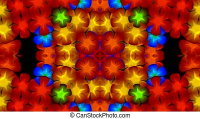 flicker flower pattern,weeding