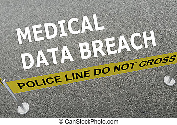 Medical Data Breach concept