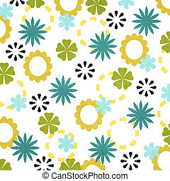 Happiness  Collection Flowers Pattern Texture Background