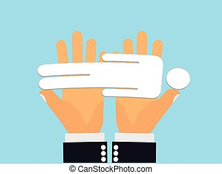 Caring Hands - Hands carrying a fallen, dead, unconscious or...