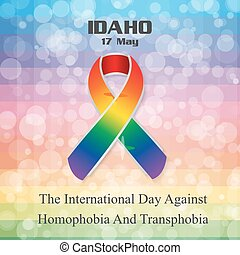 The International Day Against Homophobia and Transphobia...