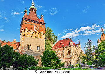 Vajdahunyad Castle Hungarian-Vajdahunyad vara is a castle in...