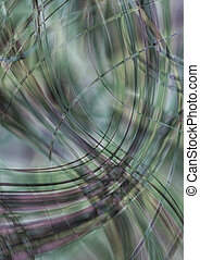 Monotone background greenish hues - Abstract monotone...