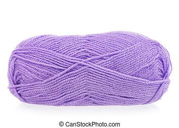 Bright woolen yarn