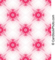 Pink ornate background. Seamless pattern for girls. Tileable...