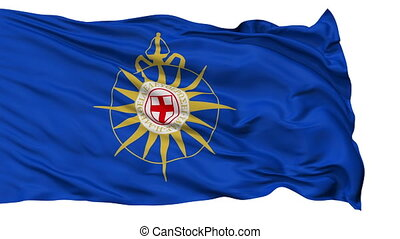 Anglican Communion Religious Isolated Waving Flag - Anglican...