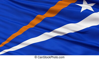 Enenkio Micronation Close Up Waving Flag - Enenkio...