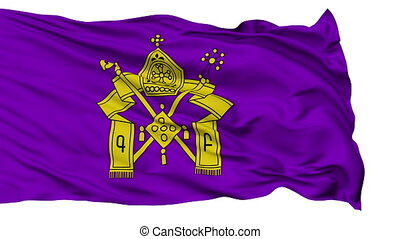 Armenian Apostolic Church Religious Isolated Waving Flag -...