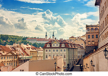 Historic architecture of Prague, Czech Republic