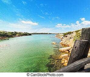 clear water in Porto Cervo, Sardinia