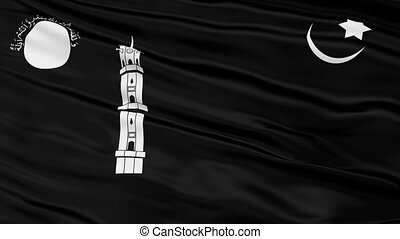 Liwa e Ahmadiyya Religious Close Up Waving Flag - Liwa e...