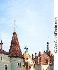 Roof of Hunting Lodge (palace) of Shenborn - Roof of Hunting...