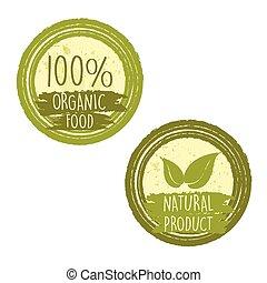 100 percent organic food natural, v