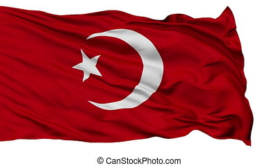 Nation of Islam Religious Isolated Waving Flag - Nation of...