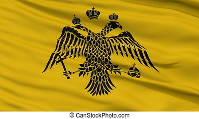 Patriarch of Constantinople Religious Close Up Waving Flag -...