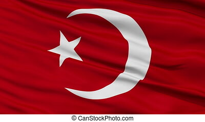 Nation of Islam Religious Close Up Waving Flag - Nation of...
