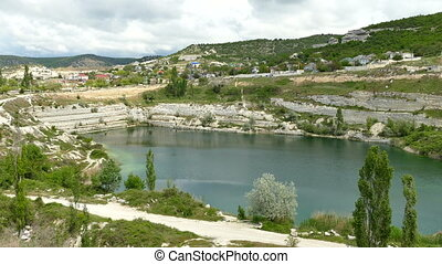 The Flooded Limestone Guarry - View of the Flooded Old...