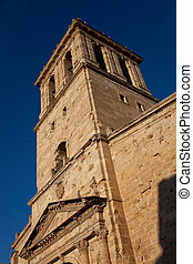 Bell tower of the cathedral of Ciudad Rodrigo, Salamanca, Spain