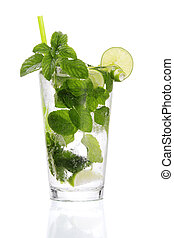 Traditional Cuban Mojito - Stock image of traditional Cuban...