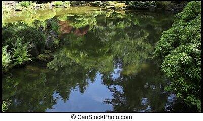 Reflection Pond at Japanese Garden