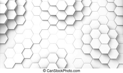 Structure of hexagons displacing waves - Structure of...