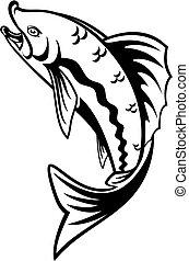 Fischerei, symbol