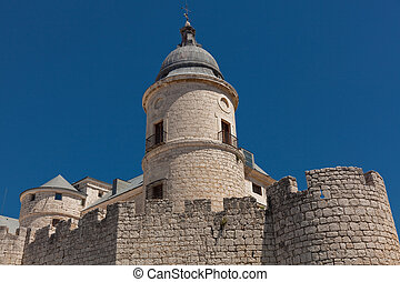 Castle of Simancas, Valladolid, Castilla y Leon, Spain