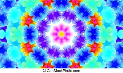 flicker flower wreath pattern