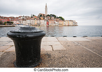 Cloudy Rovinj, Istra, Croatia - Photo of cloudy Rovinj,...
