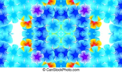flicker flower pattern