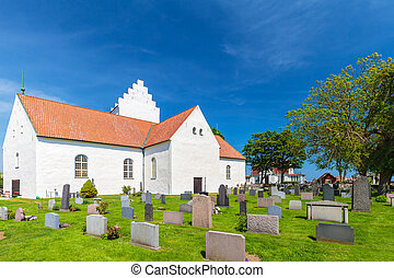View at the historic Swedish village of Kristianopel...