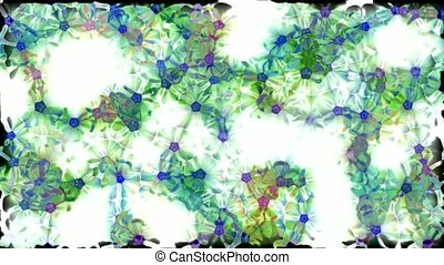 wild flower flow background