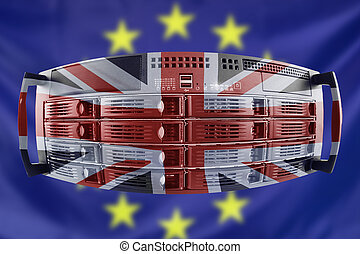 Server Concept Europe and Great Britain - Concept Server...