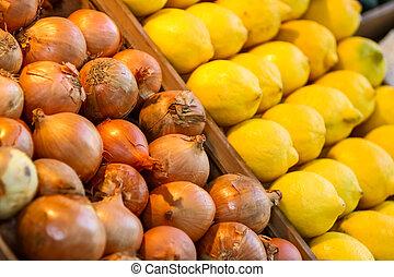 洋蔥, 檸檬