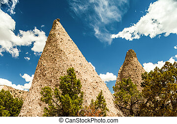 Tent Rock Monument, New Mexico, USA - Kasha Katuwe National...