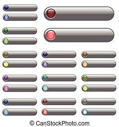 Silver Web Bars.