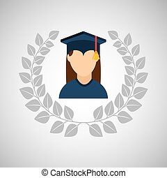university grad icon - university grad, education ceremony...