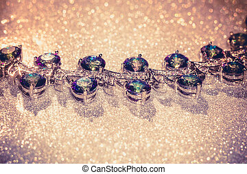 Bracelet with Mystic Topaz Filtered - Fashion bracelet with...