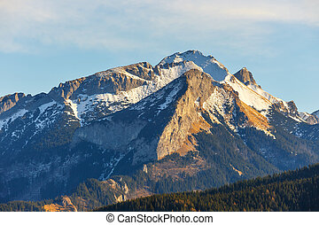 mountain landscape, Tatry, Poland