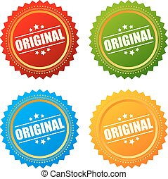 Original product star seal - Original product stars seals...