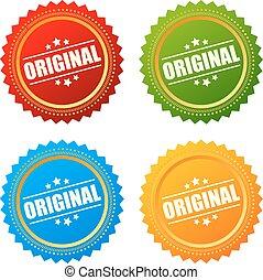 Original product star seal - Original product stars seals...