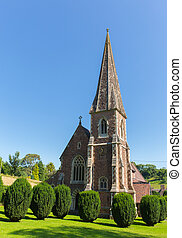 St Peter`s church Clearwell Forest of Dean West...