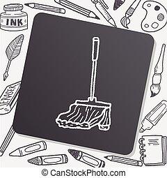 mop doodle