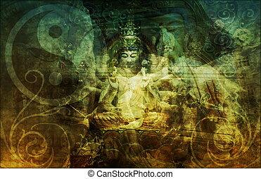 Zen Background Abstract Wallpaper as a Art