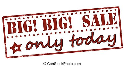 Big sale only today