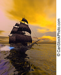 THE FLYING DUTCHMAN - The Flying Dutchman, according to...